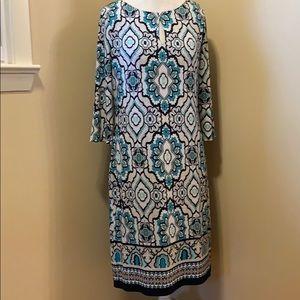 Liz Claiborne Long Sleeve Dress - Size Large
